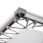 monsterframe profile silver anodized aluminium extrusion Ø50mm