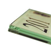 fisso infoglass tempered glass sign