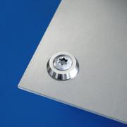 fisso ring stainless steel rosette
