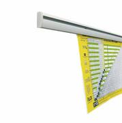wall rail information holder dacapo rail